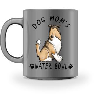 Collie Rough Dog Mom Bowl I Mug