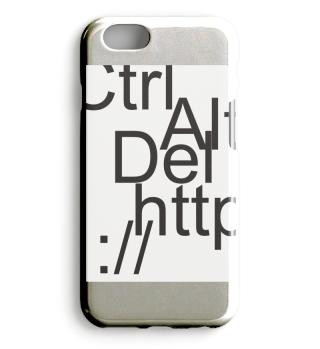 Typografie iphone Hülle