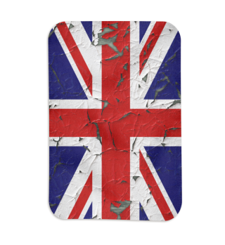 United Kingdom Union Jack Flag Grunge 1