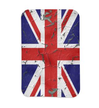 United Kingdom Union Jack Flag Grunge 1