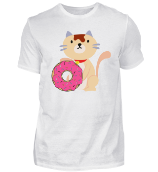 Cat with Donut