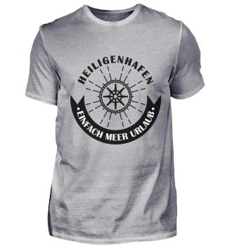 Heiligenhafen Shirt Segeln Schiff Ostsee
