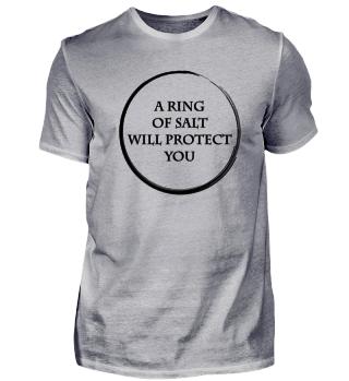 Ring of Salt Protect Geschenk Idee