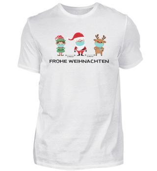 Frohe Weihnachten - Social Distancing