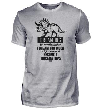 Triceratops Dino saying children