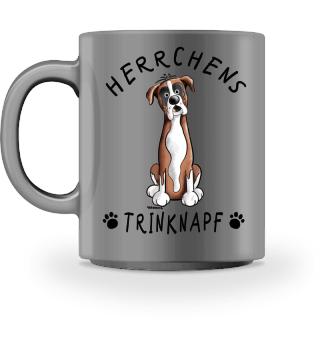 Herrchens Trinknapf Deutscher Boxer