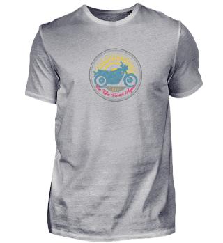 Vintage Motorrad Männer Biker T-Shirt