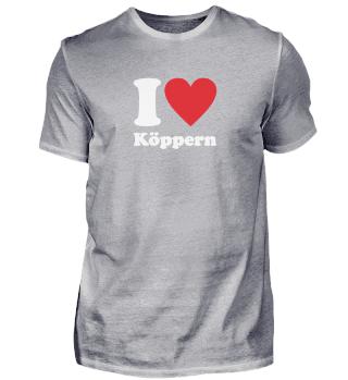 I love Köppern