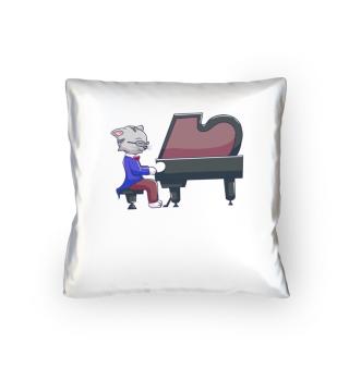 Musik Katze Flügel Piano Klavier Konzert