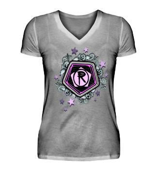 Damen Kurzarm T-Shirt R W Ramirez