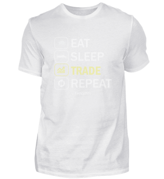 Trading Aktien Börse Geld Eat Sleep Gesc