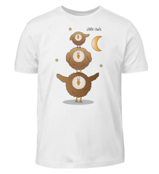 Little Owls - Kindershirt (Eule / Eulen)