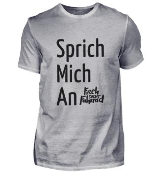 Sprich Mich An (M) - schwarz