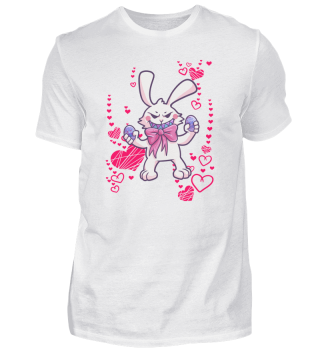Easter Bunny Easter Egg Heart Love Gift