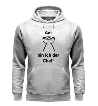 Am Grill bin ich der Chef