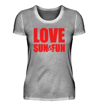 ☛ Love - Sun - Fun #1R