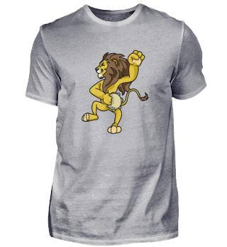 Löwe König Tier Afrika Tanzen Musik Kind