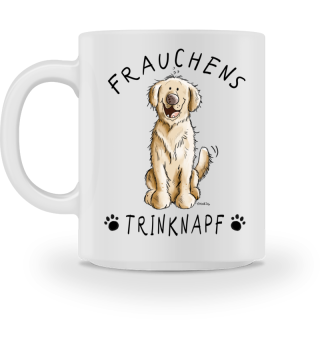 Frauchens Trinknapf Golden Retriever