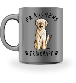 Frauchens Trinknapf Golden Retriever