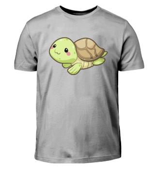 Kawaii Comic Schildkröte Kinder T-shirt