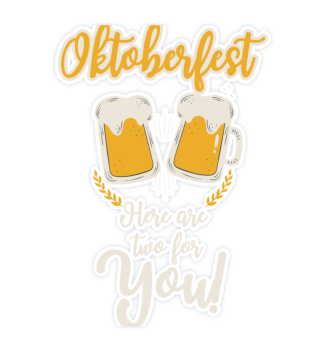 Oktoberfest here are two beers for you