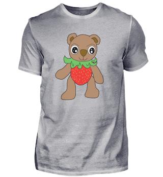 Erdbärchen Erdbeeren Bär