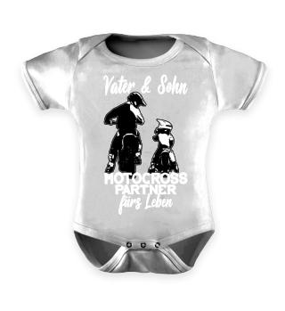 Motocross Vater und Sohn
