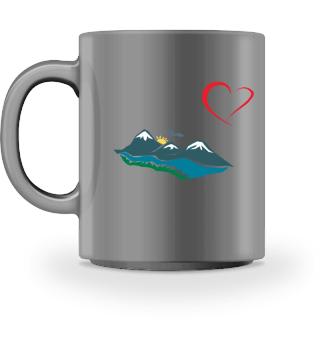 Österreich - Tirol, Lermoos, Kaffeetasse