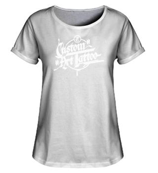 Lady-Rollup-Shirt mit Logo