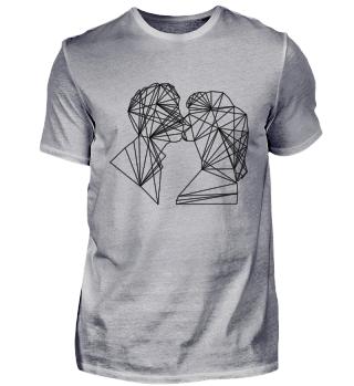 Straight Kiss T-Shirt MEN