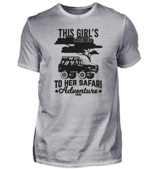 Safari Camping Wildnis Afrika Frau