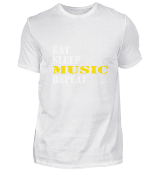eat sleep music repeat