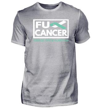 Fck Cancer Shirt cervical cancer 4