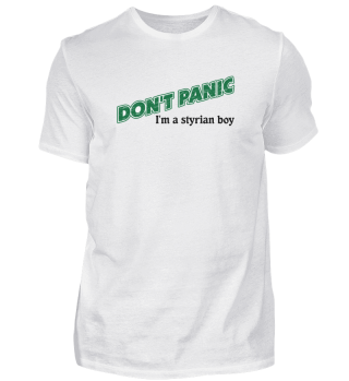 dont panic, i´m a styrian boy