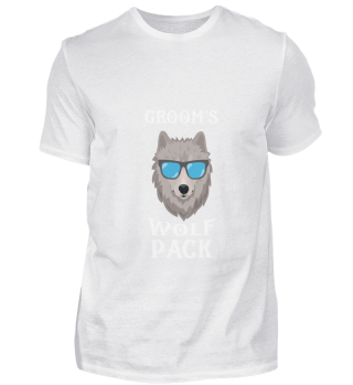 Bachelor Party T Shirts I Wolfpack Gift
