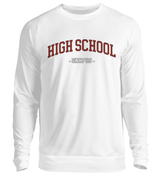 HIGH SCHOOL 420 Sweatshirt Sweater