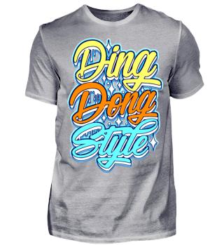 Herren Kurzarm T-Shirt Ding Dong Style Ramirez