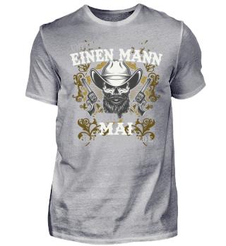 EINEN MANN MAI T-SHIRT