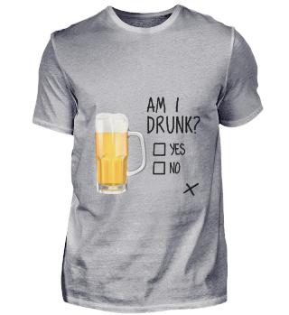 D010-0373B Bier - Beer am I drunk