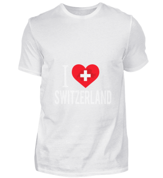 D001-0087A I Love Switzerland / Schweiz