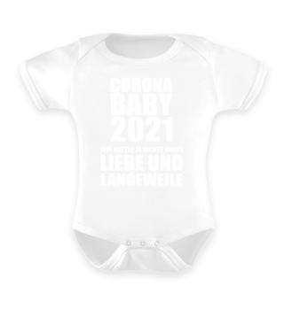 Corona Baby 2021 Lustiges Geschenk