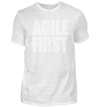 Scrum - This Is My Agile First T-Shirt