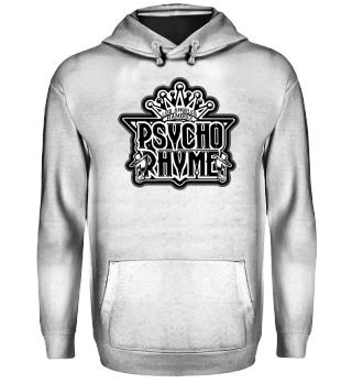 Herren Hoodie Sweatshirt Psycho Rhyme Ramirez