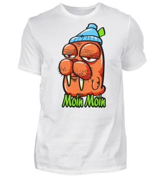 Herren Kurzarm T-Shirt Moin Moin Ramirez