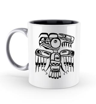 Azteken Vogel Tassen