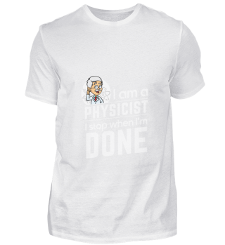 D001-0121A Proud Physicist Physiker - I