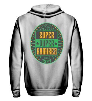 Herren Zip Hoodie Sweatshirt Super Duper Ramirez