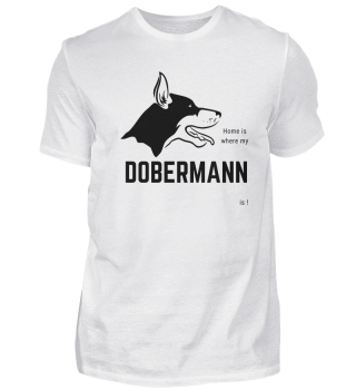 Home is where my Dobermann is - Herren