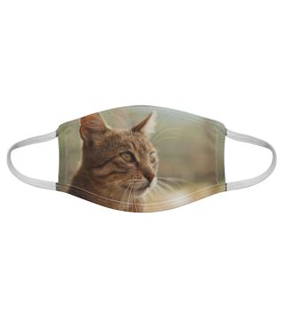Gesichtsmaske mit Katzenmotiv 20.63