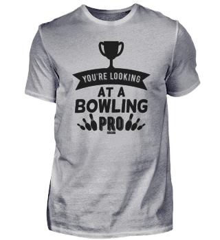 Bowling Profi lustiger Spruch